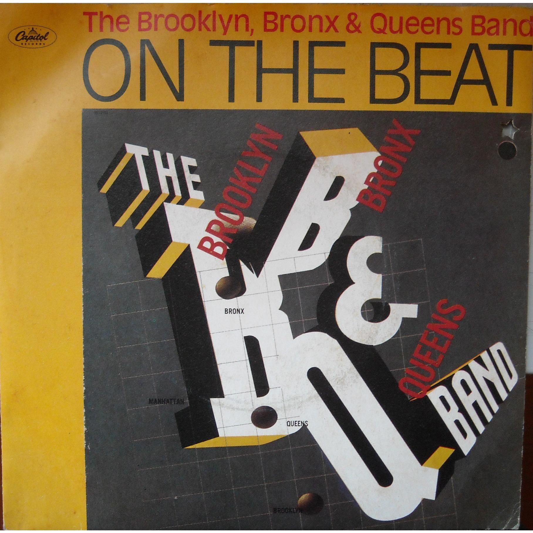 On the beat bb & q band copertina 45 giri 1980