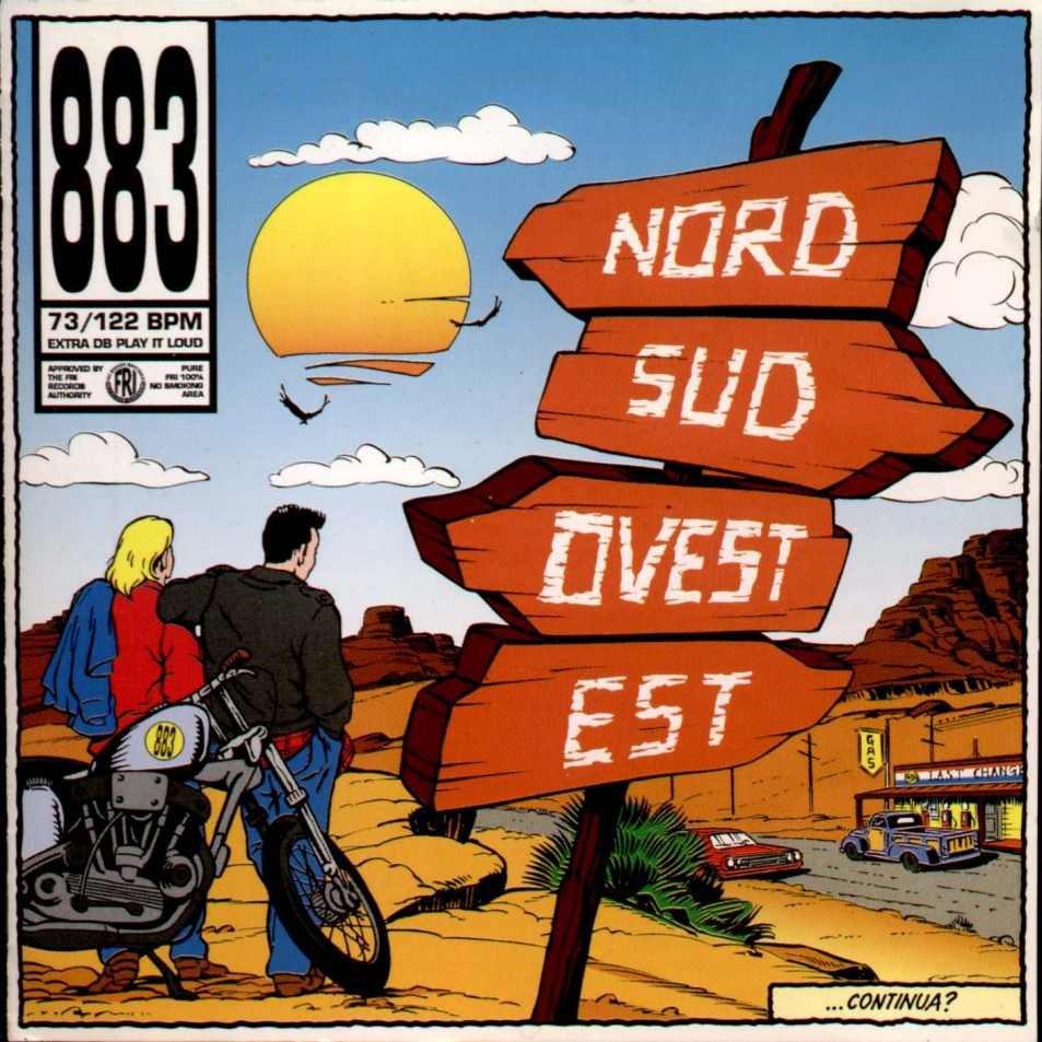 883 Come mai terzo singolo da nord sud ovest est