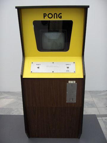 cabina originale vintage gioco pong sala giochi