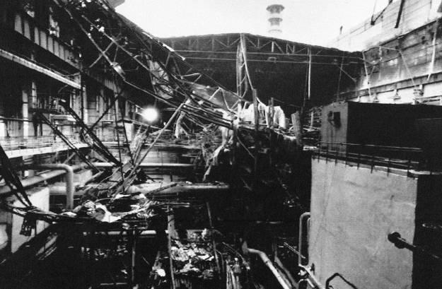 Chernobyl interni devastati