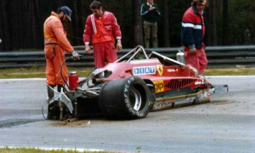 GILLES VILLENEUVE Incidente mortale – (08/05/1982)
