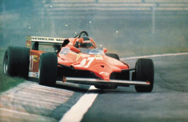 Gilles Villeneuve incidente
