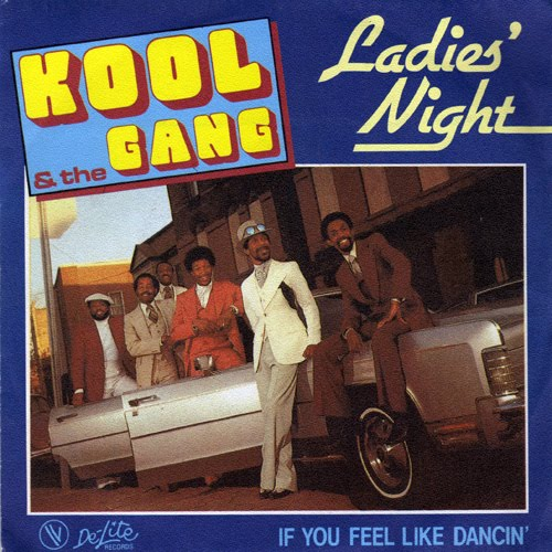 ladies night kool & the gang copertina