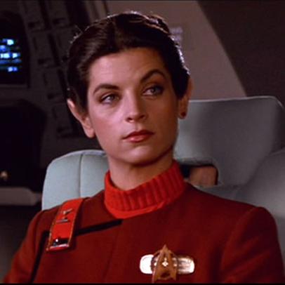 Kristie Alley in Star Trek