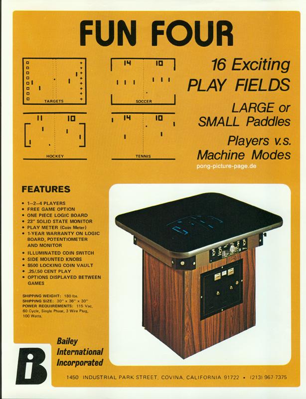 pong tavolo sala giochi anni 70