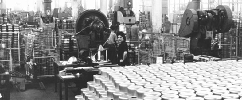 lagostina fabbrica anni 50