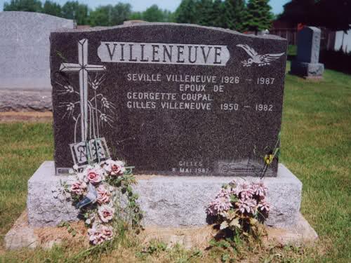 Gille Villeneuve incidente