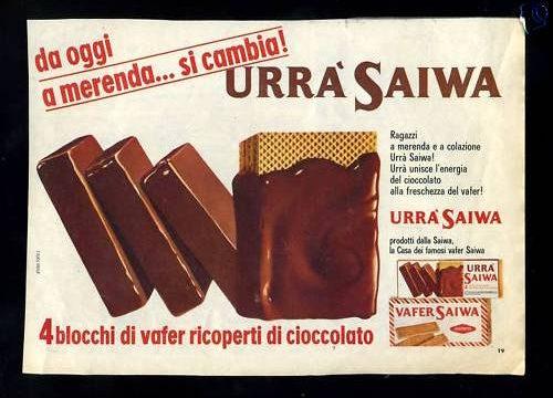 URRA' Saiwa – Mai provato ….. Curiosità e spot