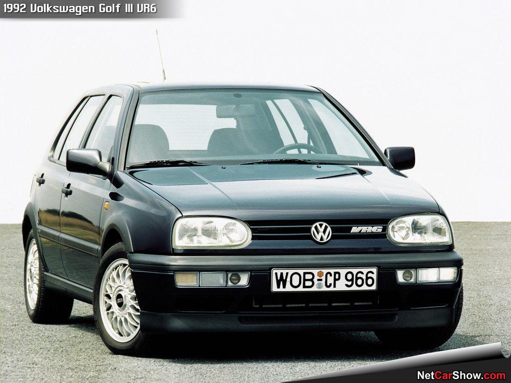 Volkswagen Golf III VR6 1992