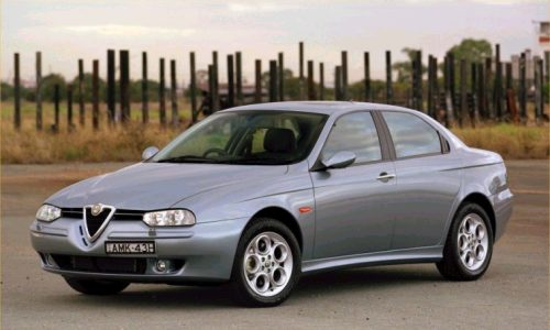 Auto dell'anno 1998 – ALFA ROMEO 156