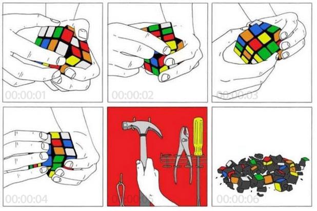 cubo di rubik soluzione