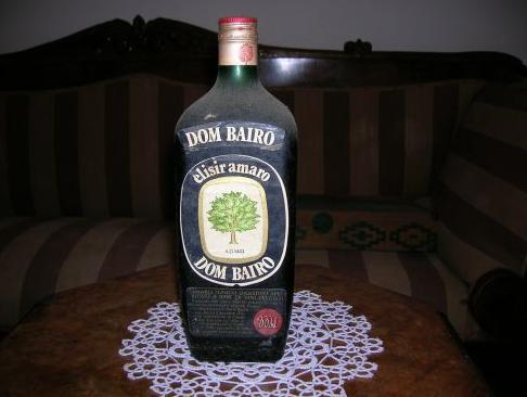 dom bairo vecchia bottiglia vintage carosello