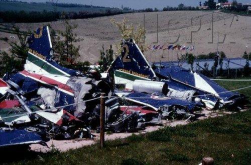 Frecce Tricolori Rottami aerei strage Ramstein