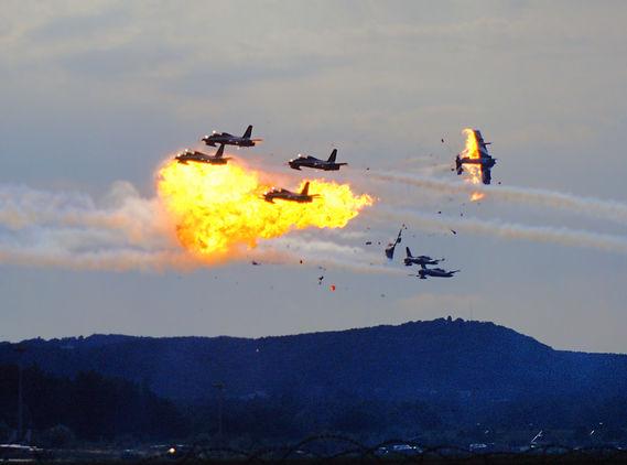 Frecce tricolori impatto aerei ramstein