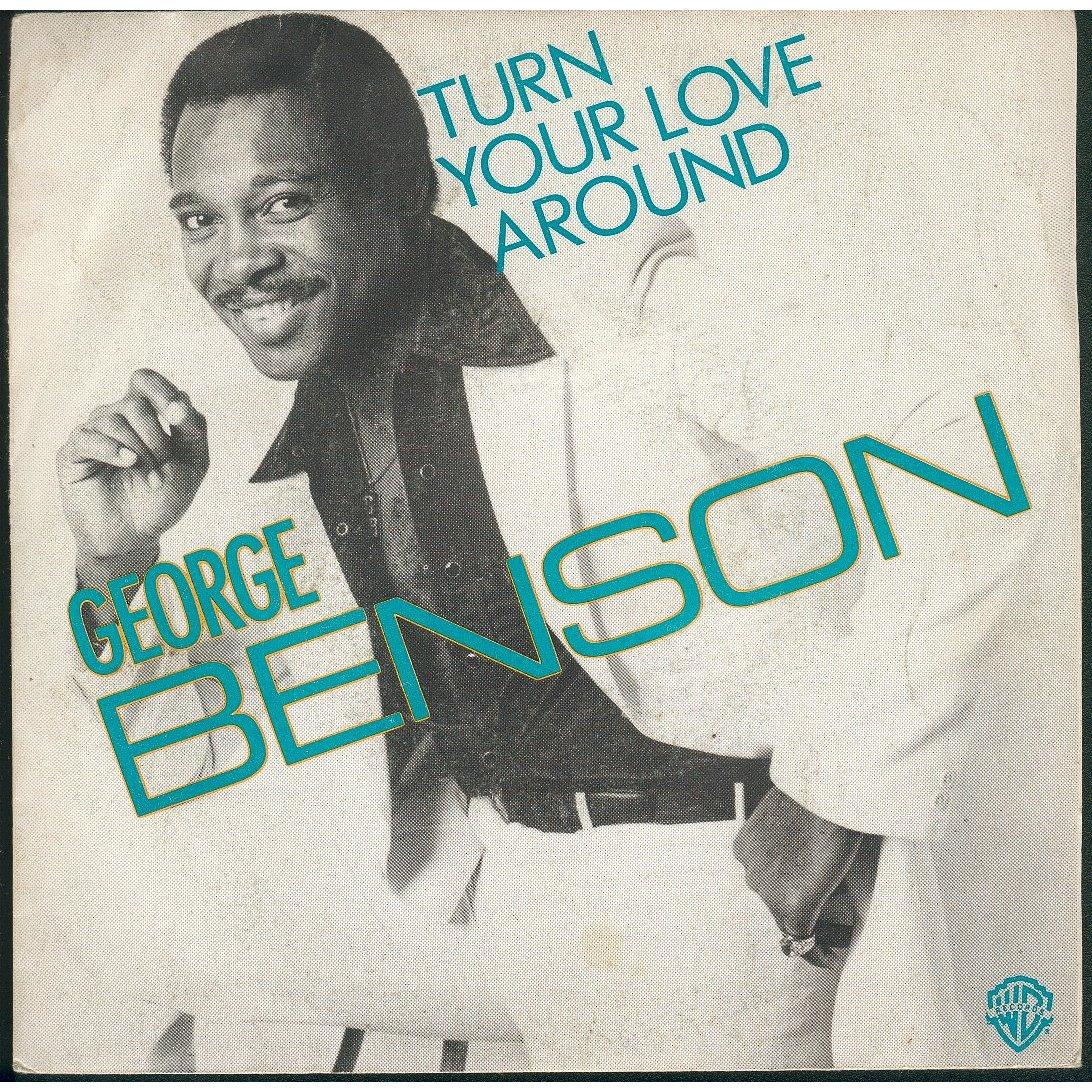 george benson turn your love around copertina