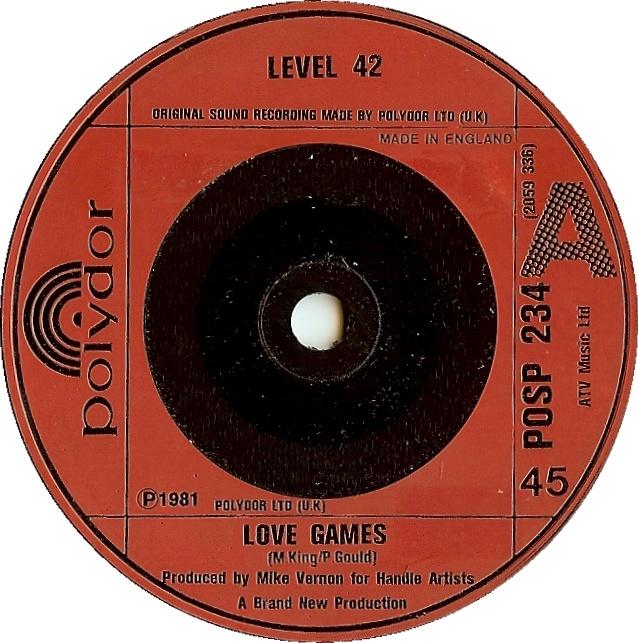 level 42 love games polydor disco