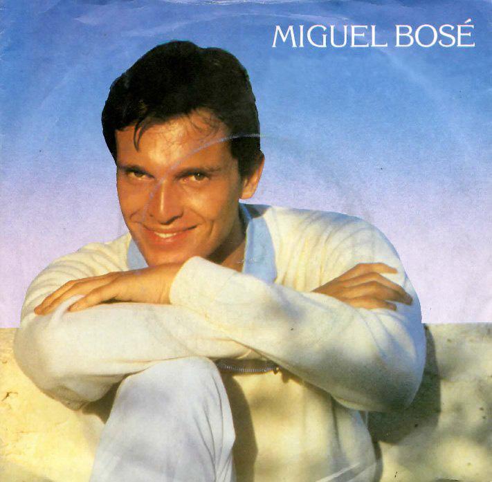 miguel bosé con Bravi Ragazzi copertina disco