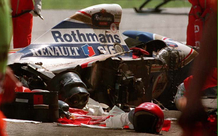 incidente ad ayrton senna morte