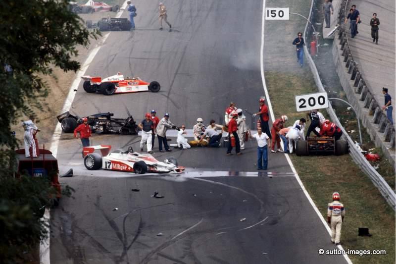 Ronnie Peterson incidente monza 1978