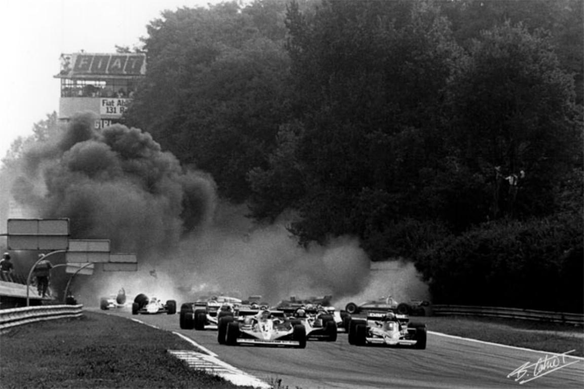 Ronnie Peterson monza 1978 crash