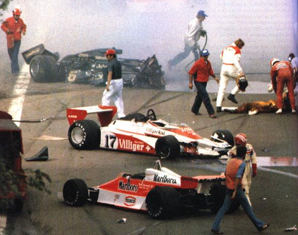 Ronnie Peterson incidente mortale crash 1978 lotus
