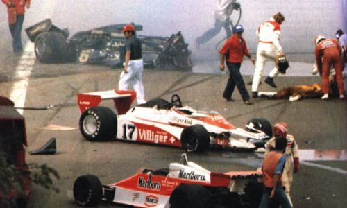 RONNIE PETERSON Incidente Mortale – Monza – (1978)