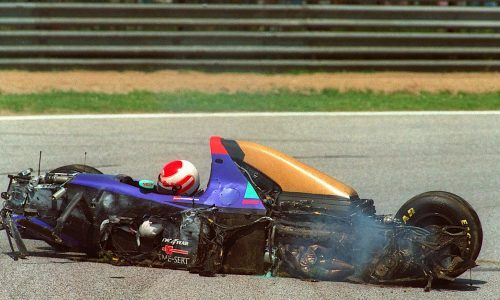 Incidente a ROLAND RATZENBERGER – (30/04/1994)