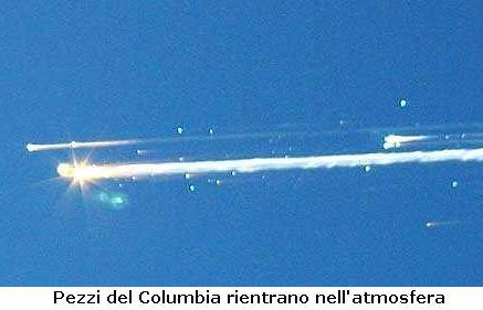 Columbia Shuttle Esplosione Passato Curiosando