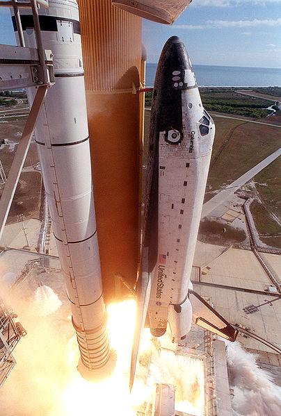 columbia shuttle esplosione