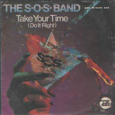 the sos band take your time copertina disco