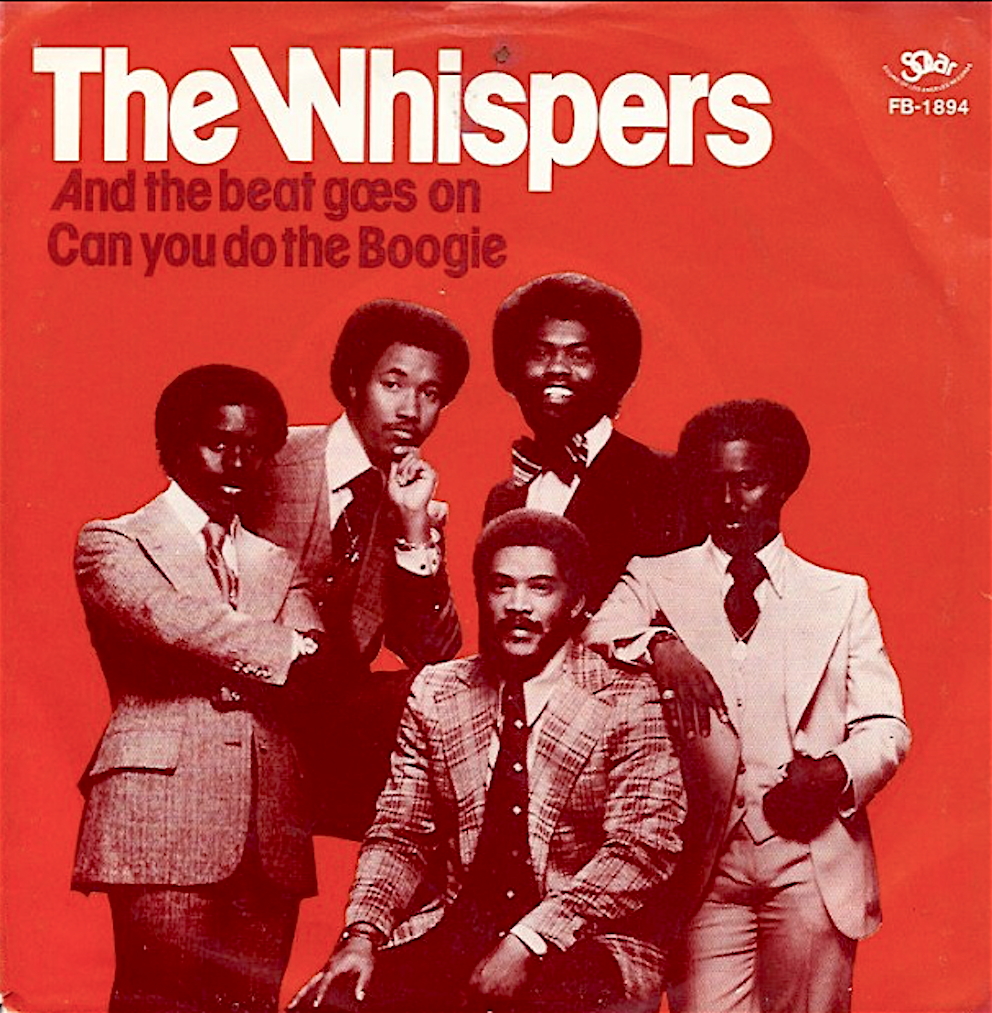 The Whispers AND THE BEAT GOES ON 1979 musica 70
