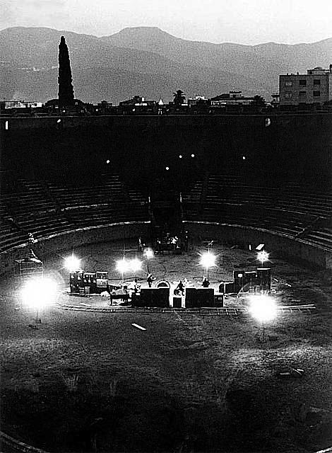 1972 Pink Floyd Live at Pompeii Panorama
