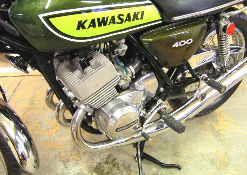 Kawasaki 400 S3 1975