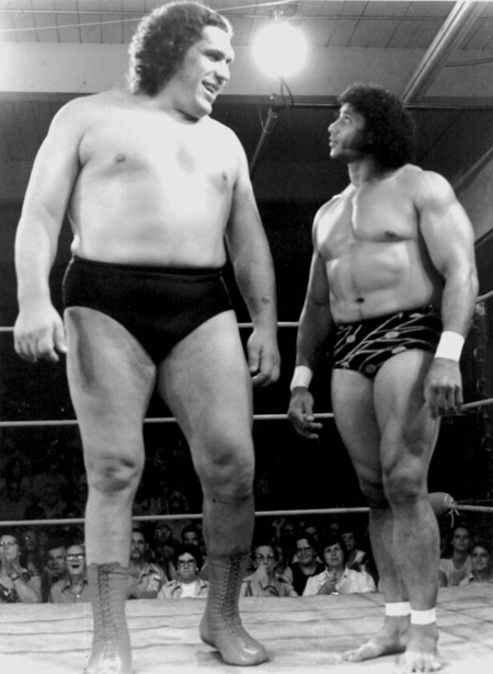 ANDRé THE GIANT WRESTLERMANIA