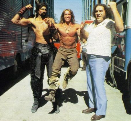 ANDRé THE GIANT CONAN IL BARBARO ARNOLD