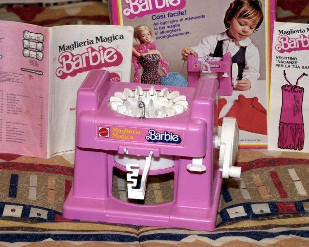 Barbie macchina lana