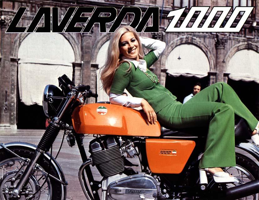 laverda 1000 brochure catalogo 1972