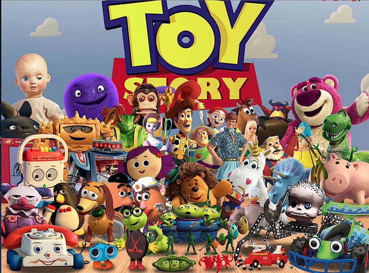 Toy story pixar grafica computerizzata