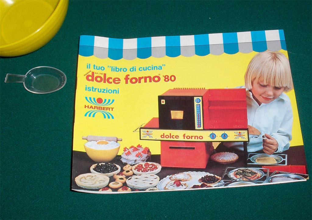 Dolce Forno '80 - libretto istruzioni