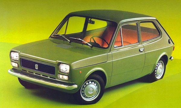 Auto Dell'Anno 1972 – FIAT 127