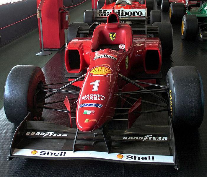 La Ferrari di Schumacher del 1996 la F310