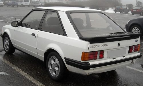 Auto dell'anno 1981 – FORD ESCORT
