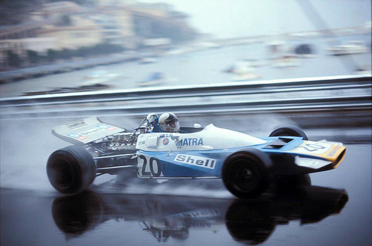 Gran Premio Monaco 1971 - Chris Amont su Matra-MS108B