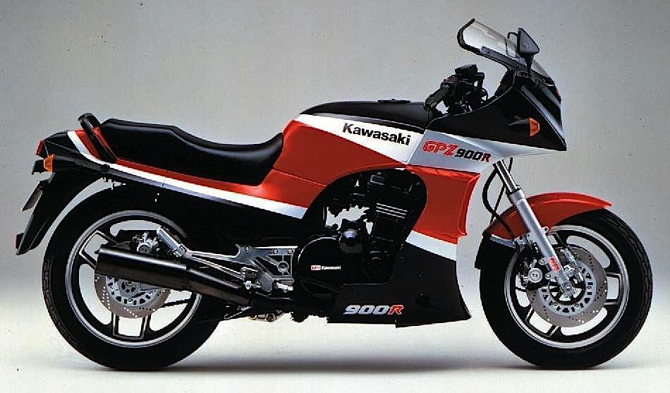 Kawasaki GPZ900R 86