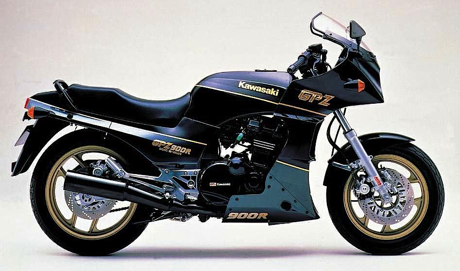Kawasaki GPZ900R 89
