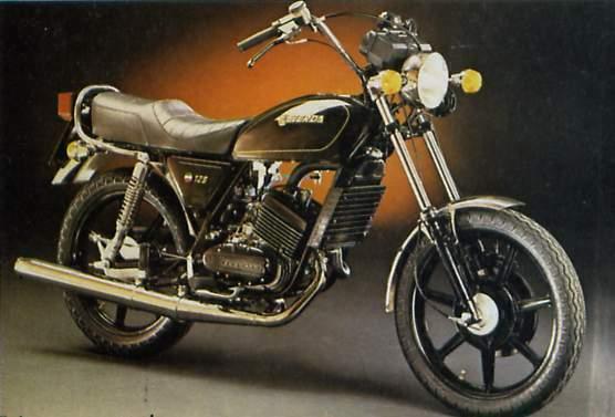 Laverda 125 Custom 76