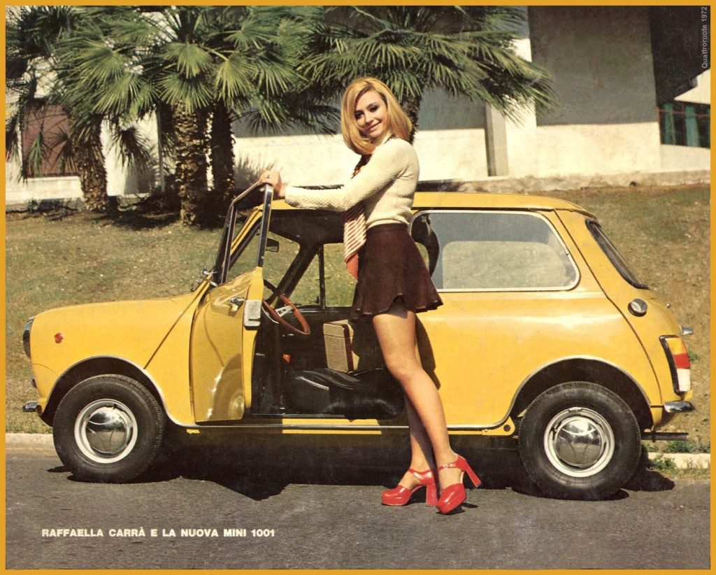 mini raffaella carrà 1972