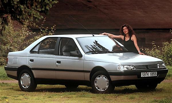 Auto dell'anno 1988 – PEUGEOT 405