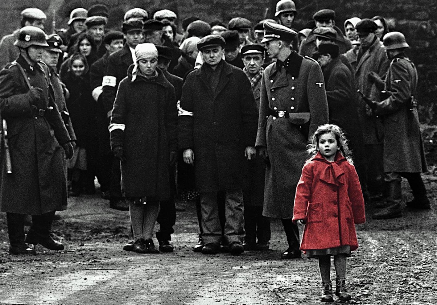 SCHINDLER'S LIST_bambina_rosso_red_film_steven_spielberg_1993