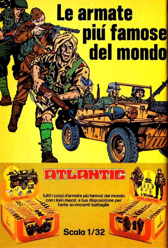 soldatini atlantic topolino 1979 armate più famose